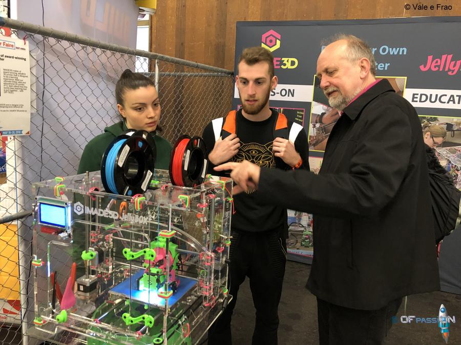 A San Francisco alla Maker Faire Bay Area valeria cagnina francesco baldassarre installazioni ofpassion imade3d stampanti 3d