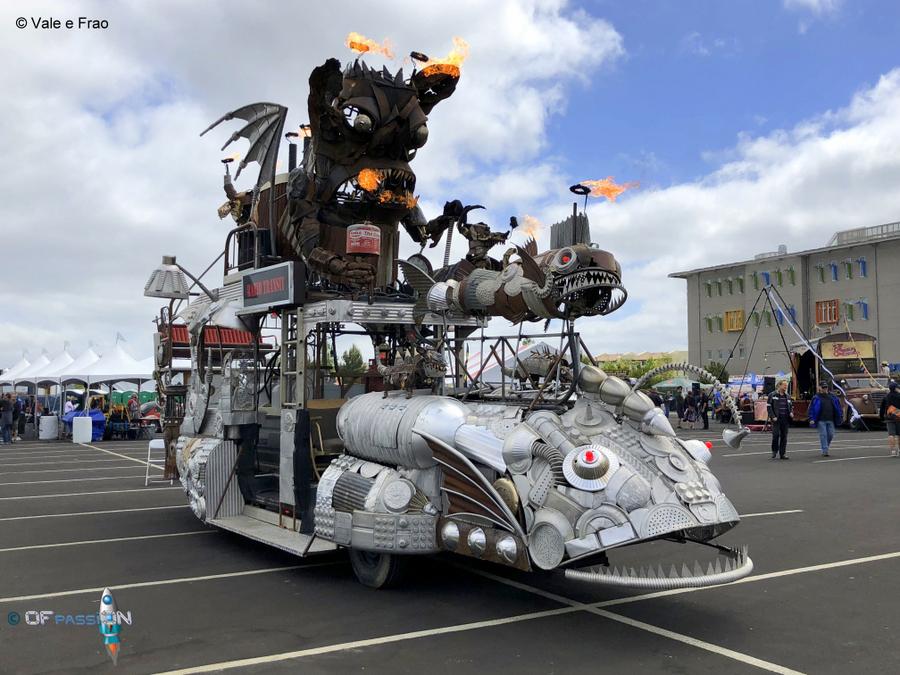A San Francisco alla Maker Faire Bay Area valeria cagnina francesco baldassarre installazioni ofpassion installazioni