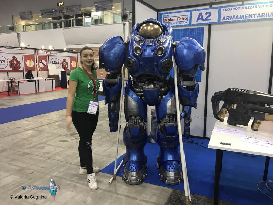 robot maker faire roma valeria cagnina ofpassion francesco baldassarre