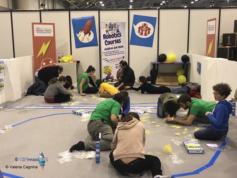 laboratorio ragazzi bambini adulti Strandbeest maker faire roma ofpassion