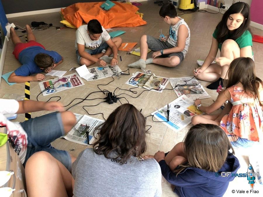summer camp valeria cagnina francesco baldassarre alessandria 2018 robot