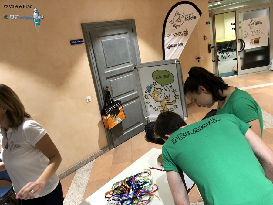 ofpassion lugano valeria e francesco robotica educativa laboratori robot
