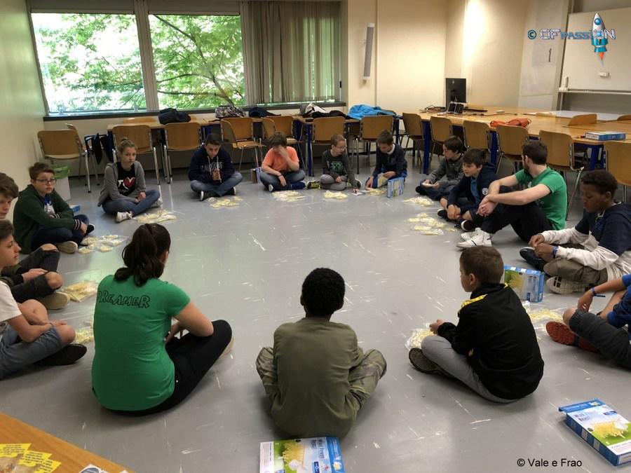 robotica educativa valeria e francesco lugano svizzera, regola scuola, niente è impossibile