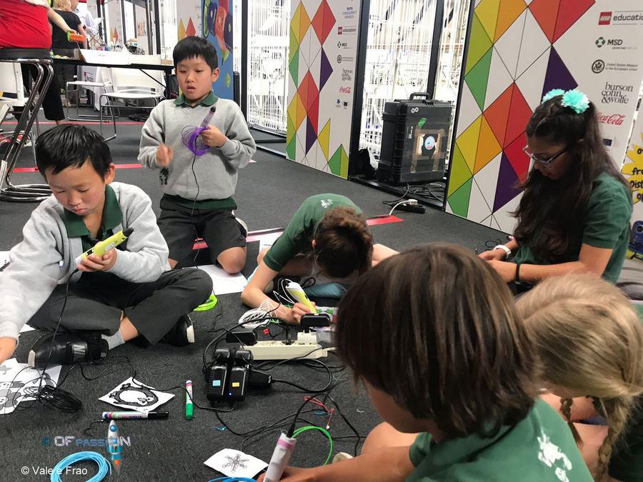 attività ragazzi bruxelles fiera maker penna 3d ofpassion