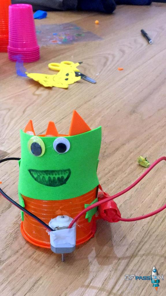 robot dreamer laboratorio robotica educativa ofpassion