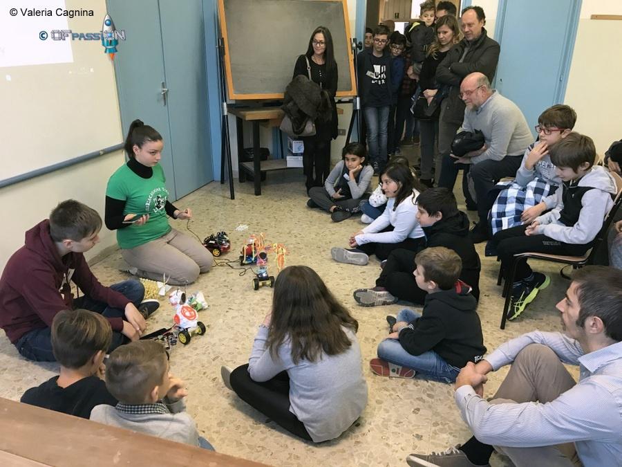 evento robot in classe con valeria cagnina ofpassion