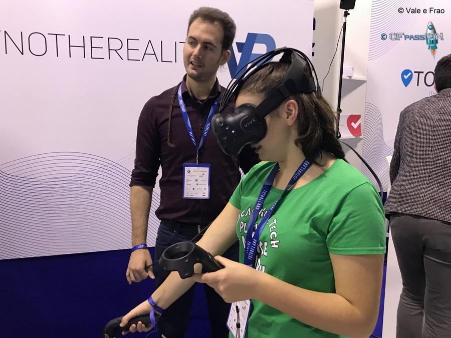 realtà virtuale strumentazioni tecnologiche valeria cagnina ofpassion