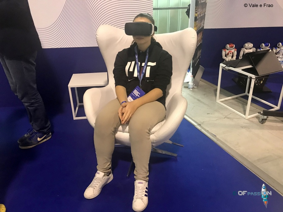 valeria cagnina ofpassion prova realtà virtuale