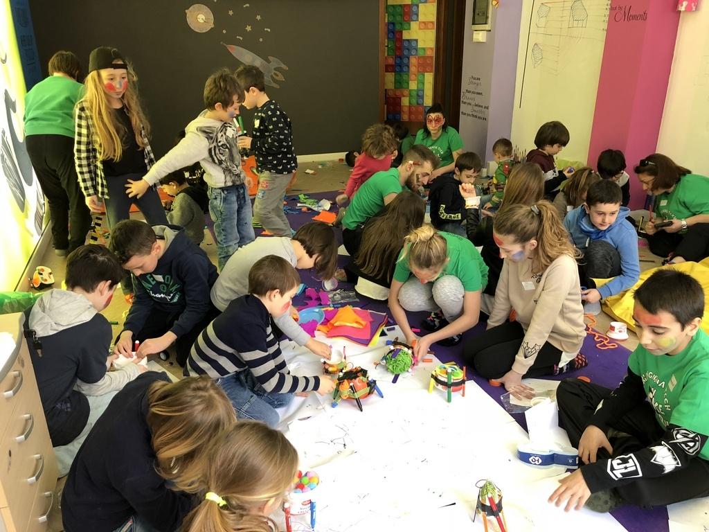 laboratori robotica bambini ragazzi