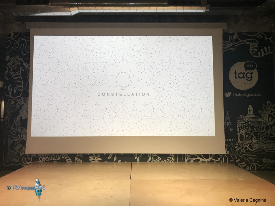 palco Github Constellation evento valeria cagnina come speaker