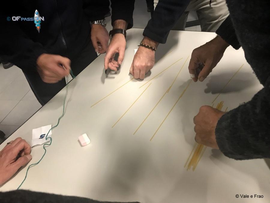 progettazione soluzione marshmallows challenge dipendenti michelin attività ofpassion valeria cagnina francesco baldassarre