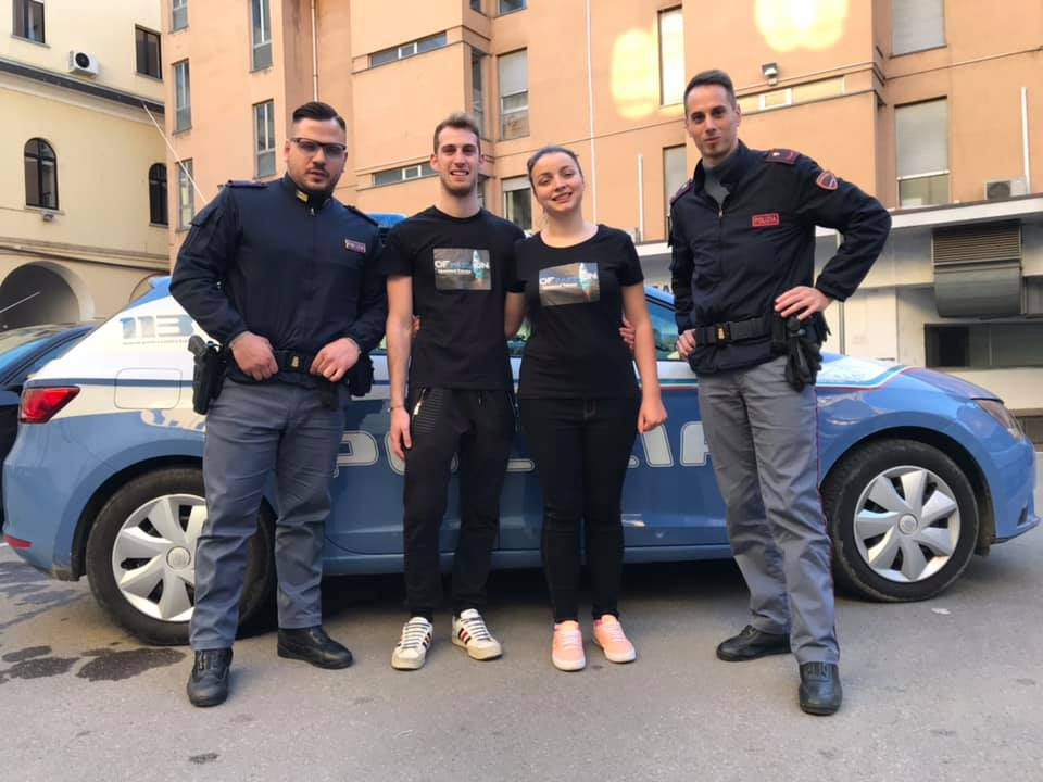 polizia di stato polizia moderna valeria cagnina francesco baldassarre alessandria