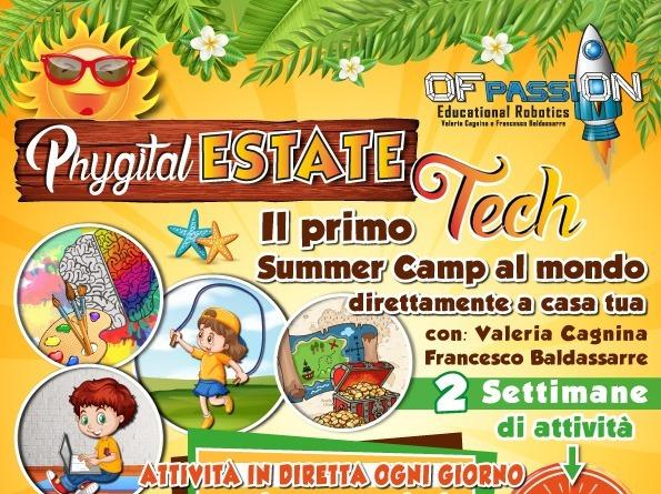 Phygital Estate Tech summer camp Valeria Cagnina Francesco Baldassarre
