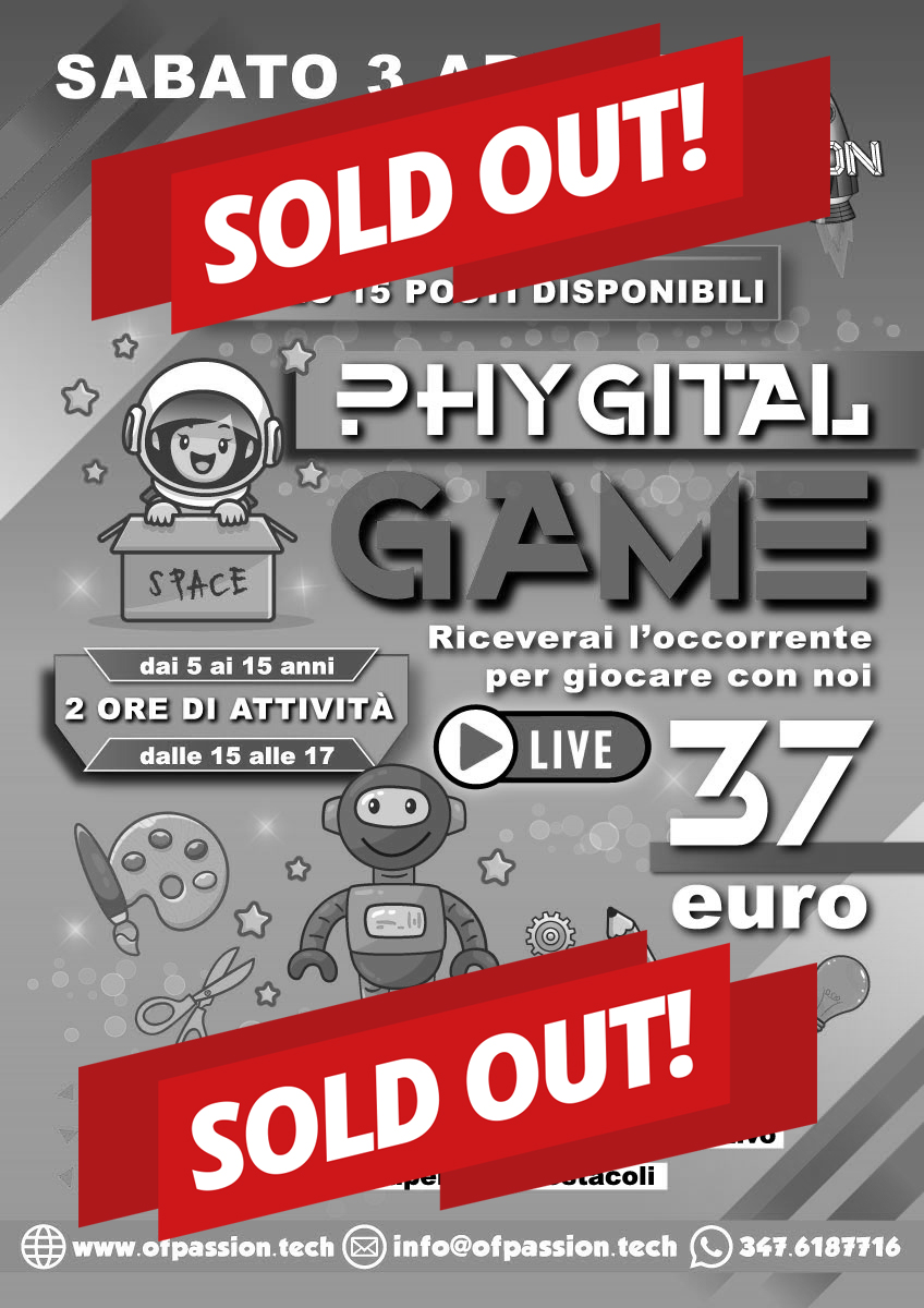 sold out phygital game