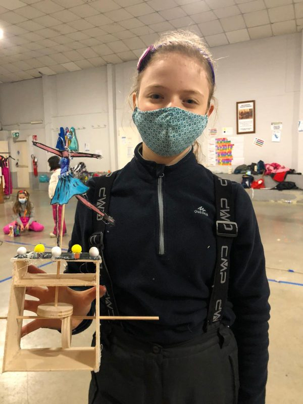 dreamer robot legno creatività scienza stem