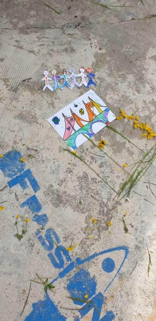 ofpassion scritta fiori disegno