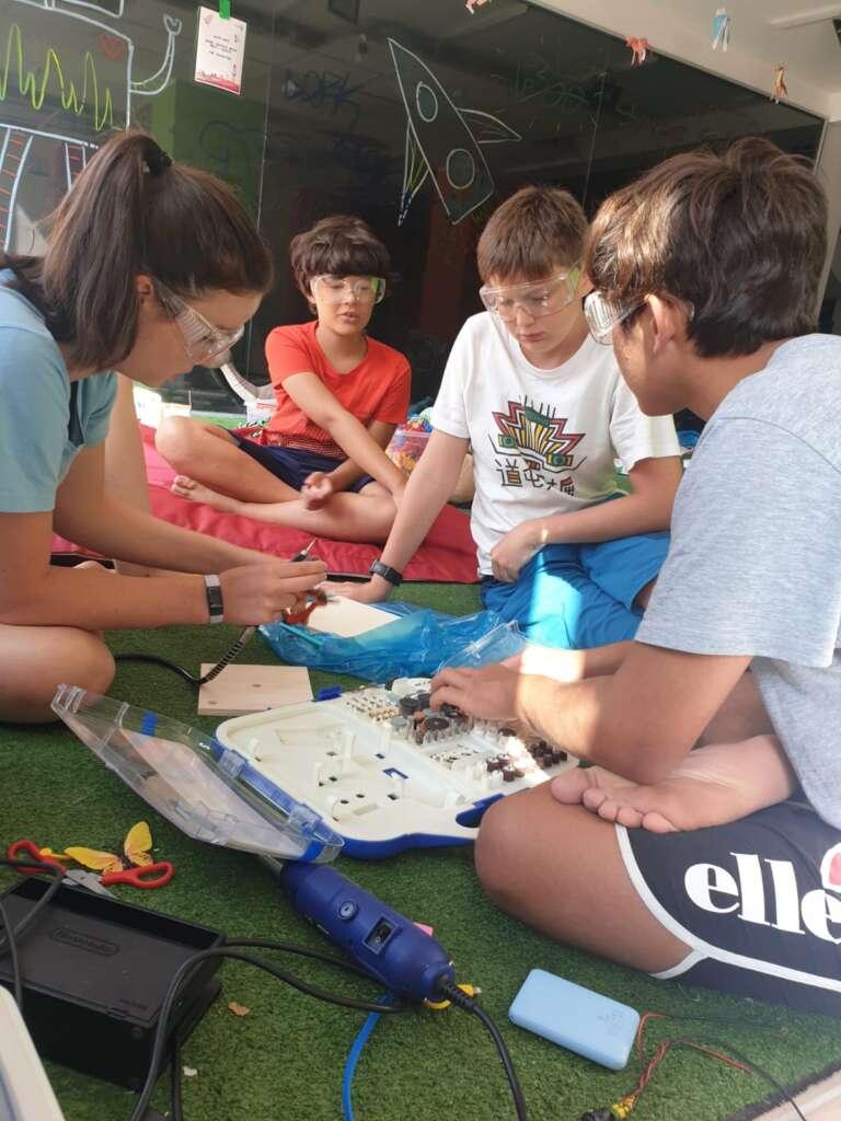 lab creativi day camp